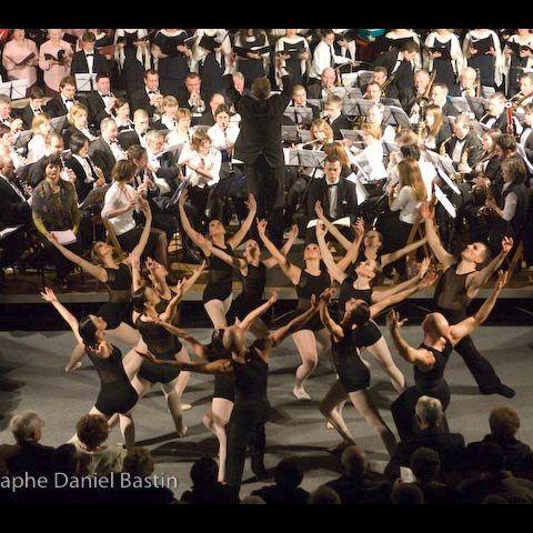 Ballet à la cathédrale de Framerie